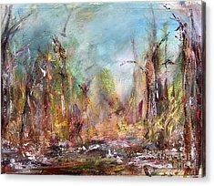 Into Those Woods Acrylic Print