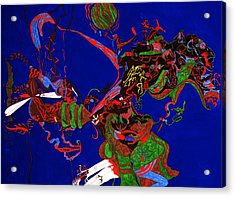 Intoxication Acrylic Print by William Watson