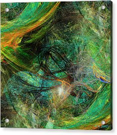 Intricate Love Acrylic Print by Michael Durst