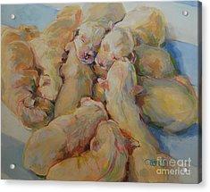 Introducing The Vs Acrylic Print by Kimberly Santini