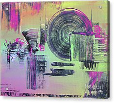Introvert Acrylic Print by Melissa Goodrich