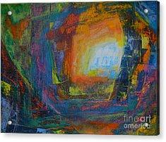 Intuition #2# Acrylic Print by Adel Nemeth