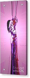 Acrylic Print featuring the painting Intwined by Tbone Oliver