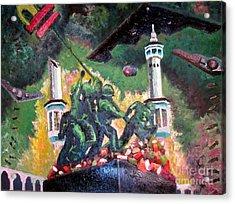Invading Mecca Acrylic Print