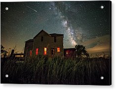 Acrylic Print featuring the photograph Invasion by Aaron J Groen