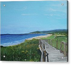 Inverness Beach Acrylic Print by Betty-Anne McDonald