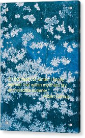 Invincible Summer Within Acrylic Print