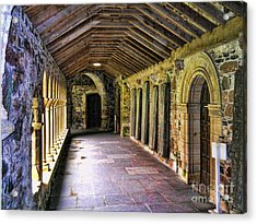 Arched Invitation Passageway Acrylic Print