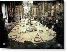 Invitation To Dinner At The Castle... Acrylic Print