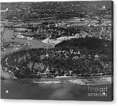 Inwood Hill Park Aerial, 1935 Acrylic Print