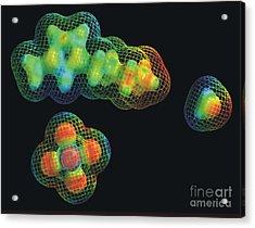 Ionic Liquid Acrylic Print