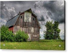 Iowa Barn Acrylic Print