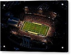 Iowa State Jack Trice Stadium Aerial  Acrylic Print by Iowa State