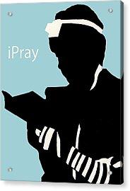 Ipray Acrylic Print by Anshie Kagan