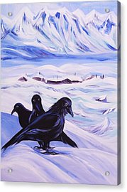 Iqaluit Acrylic Print by Anna  Duyunova