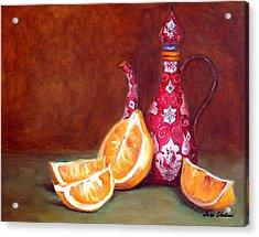Iranian Lemons Acrylic Print