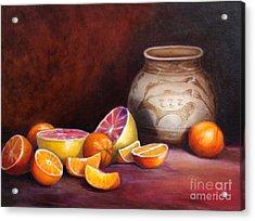 Iranian Still Life Acrylic Print