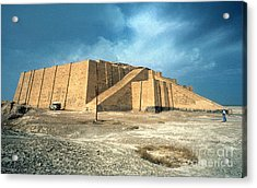 Iraq: Ziggurat In Ur Acrylic Print by Granger