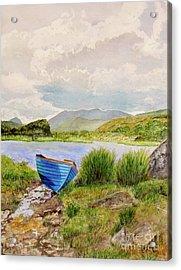 Ireland Acrylic Print by Carol Flagg