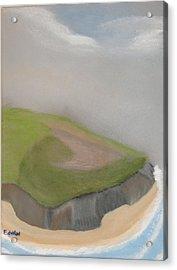Ireland Cliffs Acrylic Print by Edwin Long