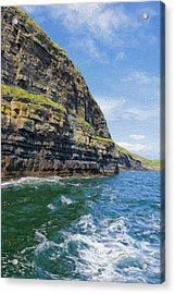 Ireland Cliffs Acrylic Print