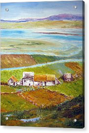 Ireland In Fall Acrylic Print