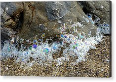 Iridescent Seafoam Necklace Acrylic Print