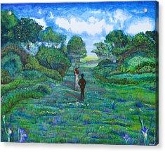 Iris And Vern Acrylic Print by Tom Hefko