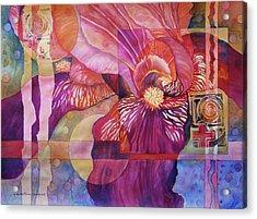 Iris Delight Acrylic Print