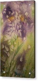 Iris Fantasy Acrylic Print