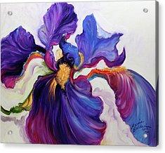 Iris Serenity Acrylic Print