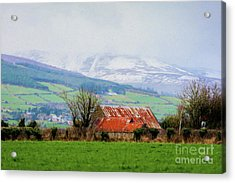 Irish Barn Acrylic Print
