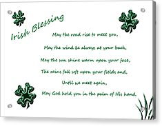 Irish Blessing 2 Acrylic Print
