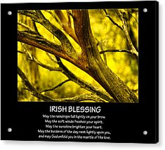 Irish Blessing Acrylic Print