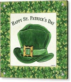 Irish Cap Acrylic Print by Debbie DeWitt