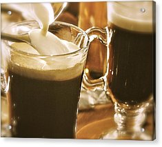 Irish Coffee Acrylic Print