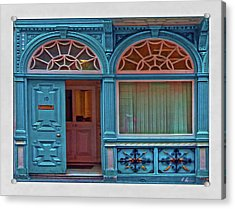 Irish Door Acrylic Print by Hanny Heim