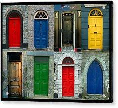 Irish Doors Acrylic Print