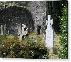 Irish Graves Acrylic Print by Siobhan Yost