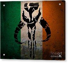 Irish Mandalorian Acrylic Print