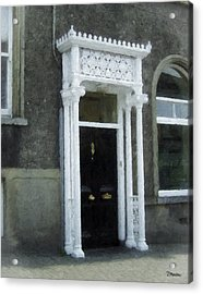 Irish Solicitors Door Acrylic Print by Teresa Mucha