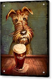 Irish Toast Acrylic Print by Sean ODaniels