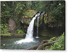 Iron Creek Falls Acrylic Print