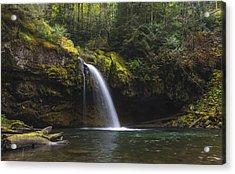 Iron Creek Falls Acrylic Print