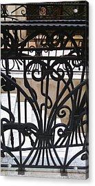 Iron Decorative Heart Acrylic Print