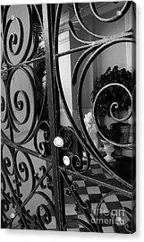 Iron Gate Acrylic Print by Wendy Mogul