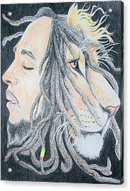 Iron Lion Zion Acrylic Print