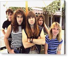Iron Maiden 1983 Acrylic Print