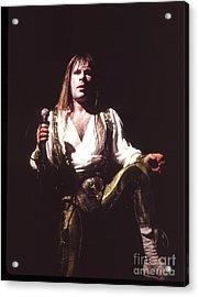 Iron Maiden 1987 Bruce Dickinson Acrylic Print