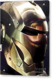 Iron Man 14 Acrylic Print by Micah May